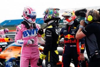 F1: Ricciardo is elájult a visszatérő Hülkenbergtől