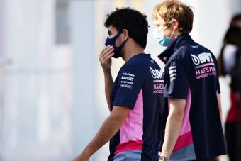 F1: Perezzel közölték, milyen jövőre számíthat