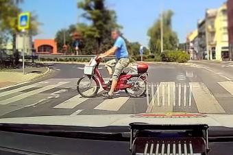 Szabálytalan bringások a rendőrség legújabb videójában