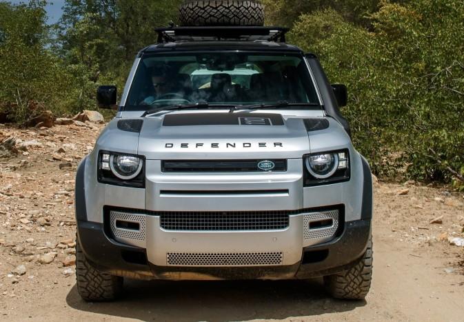 Már nemcsak a mocsárban, hanem a városban is életképes – Land Rover Defender 2020 4