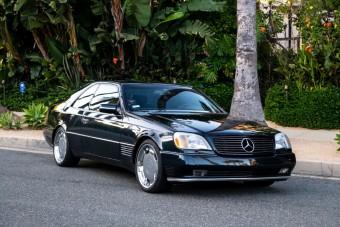 Eladó Michael Jordan sokat futott Mercedes kupéja