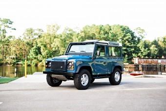 Vadonatújjá varázsoltak egy 23 éves Land Rovert