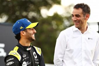 F1: Kezdhet aggódni a Renault-főnök