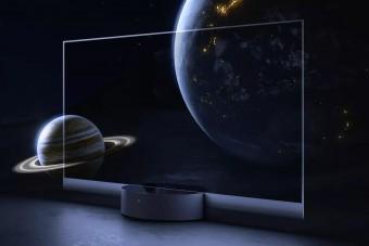 Itt a világ első átlátszó OLED tévéje