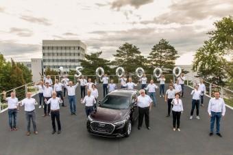 Elkészült a másfél milliomodik győri Audi