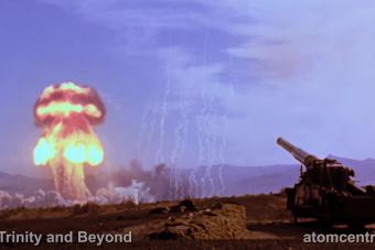 Tökéletesre javított felvételt tettek közzé az amerikai atomágyúról