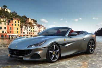 Már versenypályán is helytáll a Ferrari kabriója