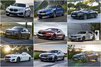 Másik autónak álcázzák magukat az új BMW-k