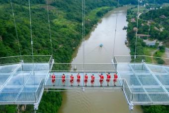 Elkészült a világ leghosszabb üveghídja