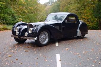 Ritka kincs az öreg Bugatti, az ára is ezt tükrözi