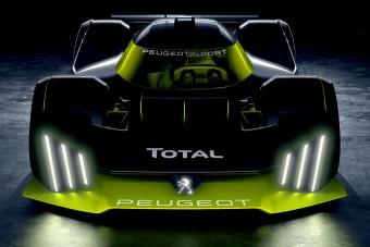 Bemutatta Le Mans-i versenyautóját a Peugeot