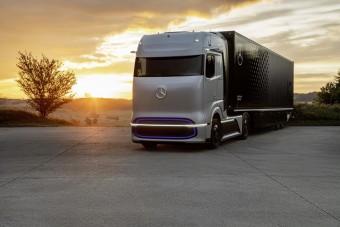 Ilyenek lesznek a jövő teherautói a Mercedesnél