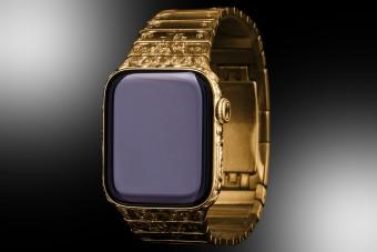 Itt az aranyból készült Apple okosóra, ha nem lenne elég drága az eredeti