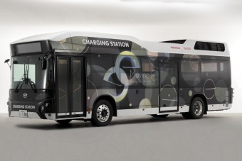 Ez a busz nem utast, hanem áramot szállít