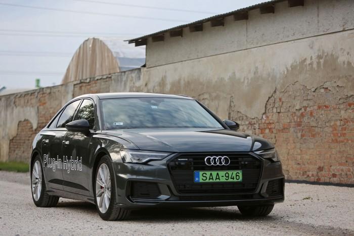 Teszt: Audi A6 55 TFSI e