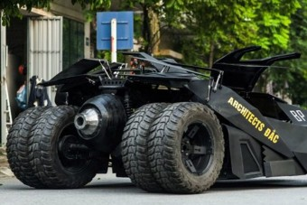 Működő és piszok menő Batmobilt épített magának egy 23 éves srác