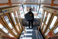 Már a pesti villamosokon is szállítható kerékpár 1