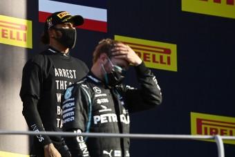 F1: Ez most fájhatott Bottasnak