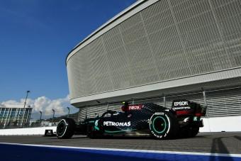 F1: Bottasé az első nap Szocsiban