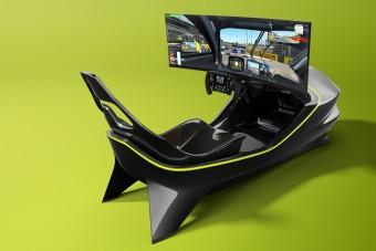 Sportautók élményét kínálja az Aston Martin szimulátora