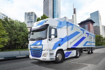 Nagyobb hatótávval készül a DAF elektromos teherautója