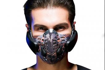 Ez a védőmaszk a fejedbe sugározza a zenét