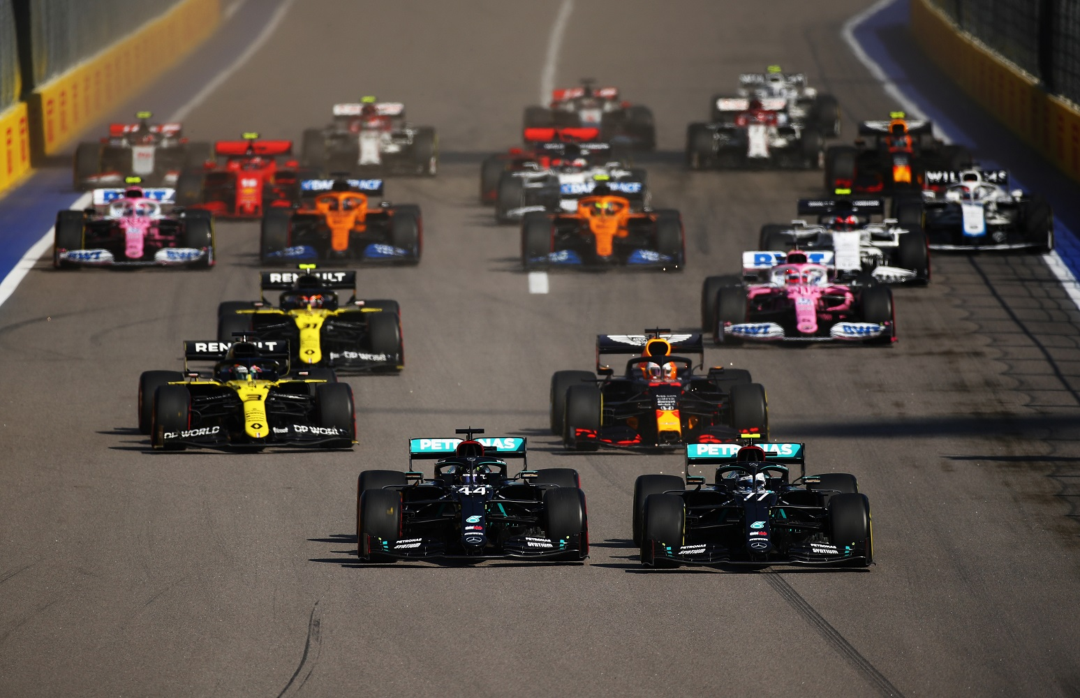 F1: Nincs rekordot érő győzelem, Bottas nyert Szocsiban 1