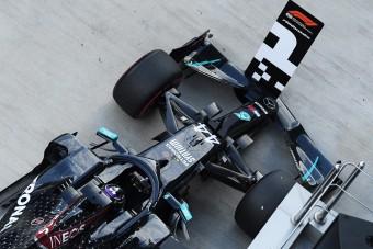 F1: Elvehetik Hamilton első rajthelyét
