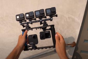 Itt a legújabb GoPro, ami mindenben egy kicsit többet tud