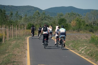 Bicikliút, aminek mindenki örül