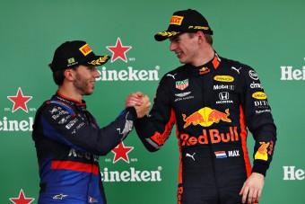 F1: Verstappen keményen odaszúrt volt csapattársának
