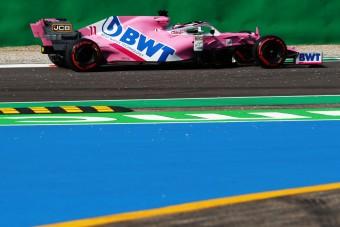 F1: Új erőre kapott a rózsaszín Mercedes