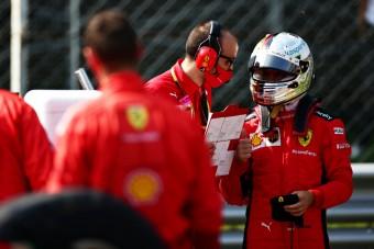 F1: Vettel annyira frusztrált, hogy szóhoz sem jut