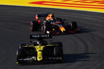 Nyolc körön múlt a Renault F1-es dobogója