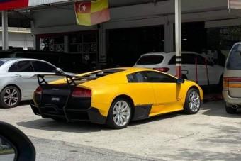 Erre a Lamborghinire nem voltunk felkészülve
