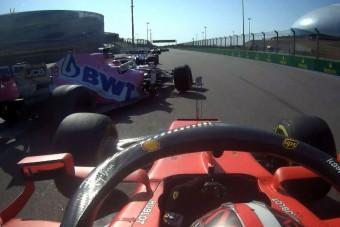 F1: Nevetséges, hogy Leclerc megúszta a büntetést