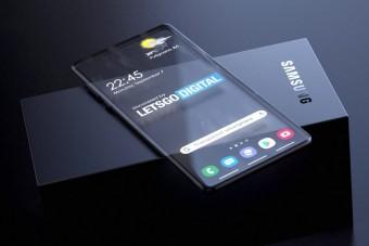 Átlátszó telefonon gondolkodik a Samsung