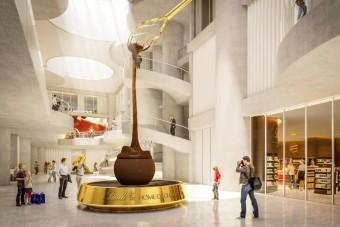 Hétvégén beindul a világ legnagyobb csokiszökőkútja