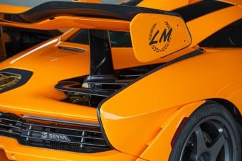 Igazi ritkaság a narancssárga McLaren Senna LM