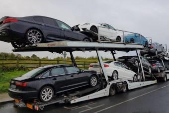 Több mint 170 autót foglaltak le pénzmosás miatt az ír rendőrök