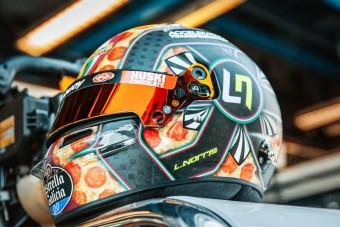 F1: Pizzát húz a fejére a McLaren-ifjonc
