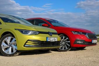 Jobb még a VW Golf, mint a Škoda Octavia?