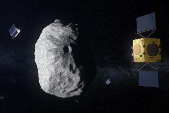 Készül az első aszteroidáktól védő űrrendszer