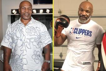 Őrült keményen edz az 54 éves Mike Tyson