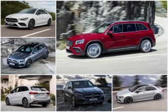 Modelleket szüntethet meg a Mercedes