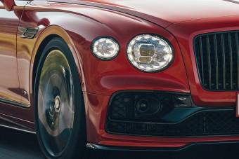 Már kis motorral is kapható a Bentley szedánja