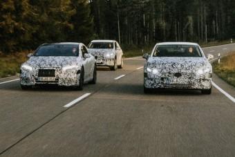 Új villanyautók a Mercedestől