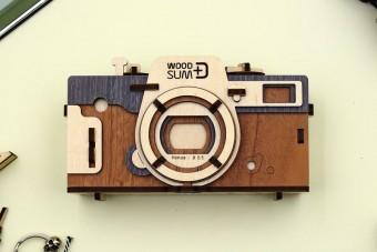Rakj össze magadnak egy működő fényképezőgépet fából