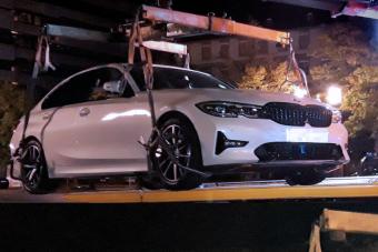 A német rendőrök nem vicceltek: a jogosítványt bevonták, az autókat lefoglalták a versenyzőktől