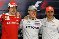 F1: Ez a különbség Schumi és Hamilton között 1